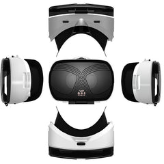 VRGO HD VR Virtual Reality Glasses 3D Headset Stereo Helmet Glasses with Eye Diopter Adjustment For iPhone Android Smartphones 4.5-6.0 Inch