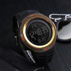 SKMEI 1251 Countdown Double Time Digital Watch Men Chronograph Electronic Sport Watch