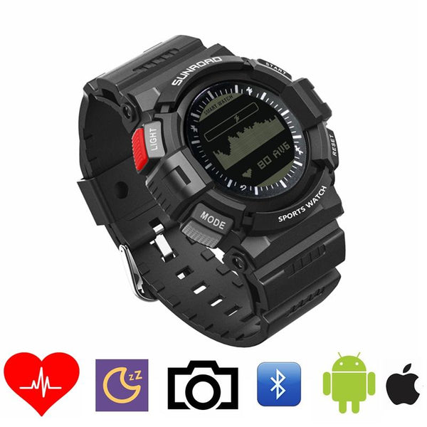 Intelligent Heart Rate Sleep Monitor Universal Digital bluetooth Smart Watch 3ATM Waterproof Healthy
