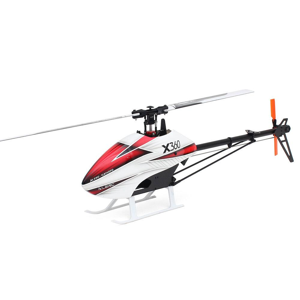 ALZRC X360 FAST FBL 6CH 3D Flying RC Helicopter Kit - EY Shopping