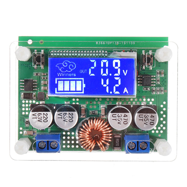 Winners 7A DC 60V Adjustable Step Down Regulator NC Power Supply Module Current Voltage Meter Buck Module