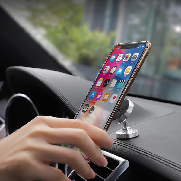 Hoco Magnetic 360 Rotation Dashboard Metal Car Phone Holder For Smart Phone iPhone Samsung Xiaomi Huawei