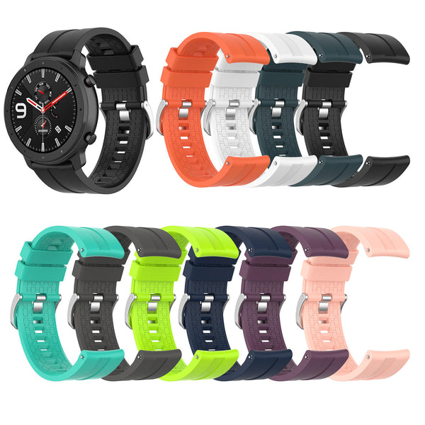 Bakeey Silicone Watch Band Replacement Watch Strap for Amazfit GTR 47MM Smart Watch