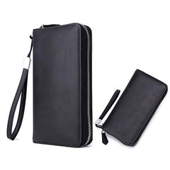 Women Men 24 Card Slots Card Holder Coin Bag Multi-card Bit Zipper Wallet Purse