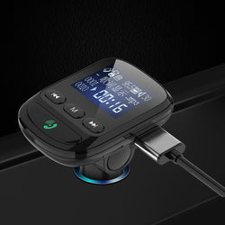 Bakeey Digital Display USB Car Charger MP3 Player Multi-function bluetooth 5.0 Receiver FM Transmitter For iPhone XS 11Pro Huawei P30 P40 Pro