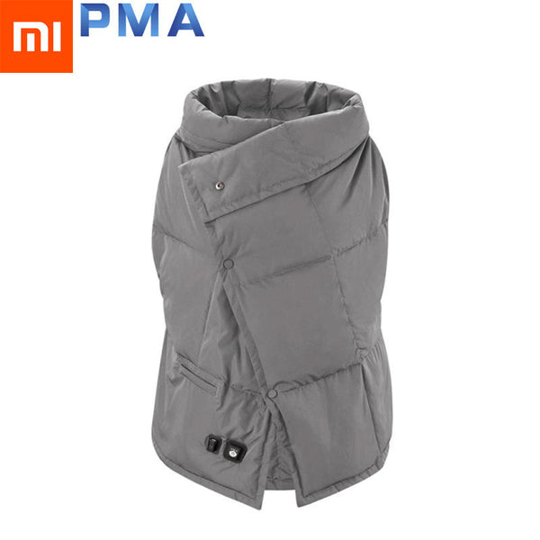 Original Xiaomi PMA Graphene Multifunctional Heating Blankets Washable Warm Vest Light Belt Fast Warm Anti Scald for Women Office