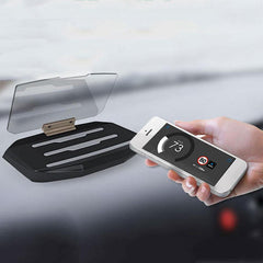 Bakeey HUD Head Up Display Qi Wireless Charger Car Cell Phone GPS Navigation Image Reflector
