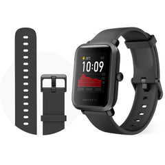 [bluetooth 5.0]Amazfit Bip S GPS Built-in Wristband 40 Days Standby Lightweight Fitness Tracker 5ATM Smart Watch Global Version