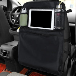 Car Seat Back Storage Bag Organizer with Touch Screen Tablet Holder