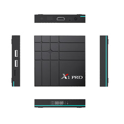 X1 PRO RK3318 2GB RAM 16GB ROM 5G WIFI Android 9.0 4K TV Box