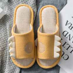 Women Solid Color Comfy Home Slippers