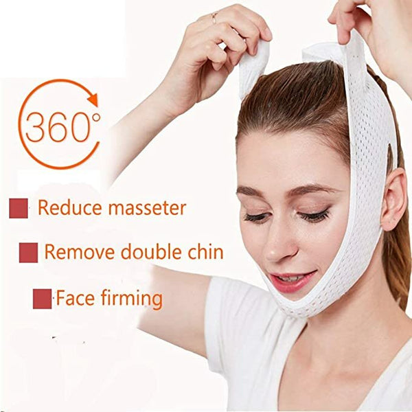 Powerful Thin Face Bandage Sleep Get Rid Of The Double Chin Face Mask