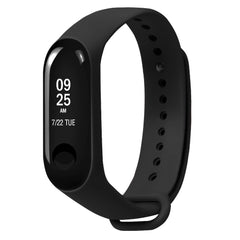 Colorful TPE Strap Replacement Sport Wrist Watch Band for Xiaomi Miband 3 Miband 4
