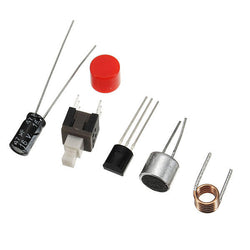 EQKIT RF-01 DIY Wireless Microphone Parts 5mA 70MHz FM Transmitter Production Kit With Antenna