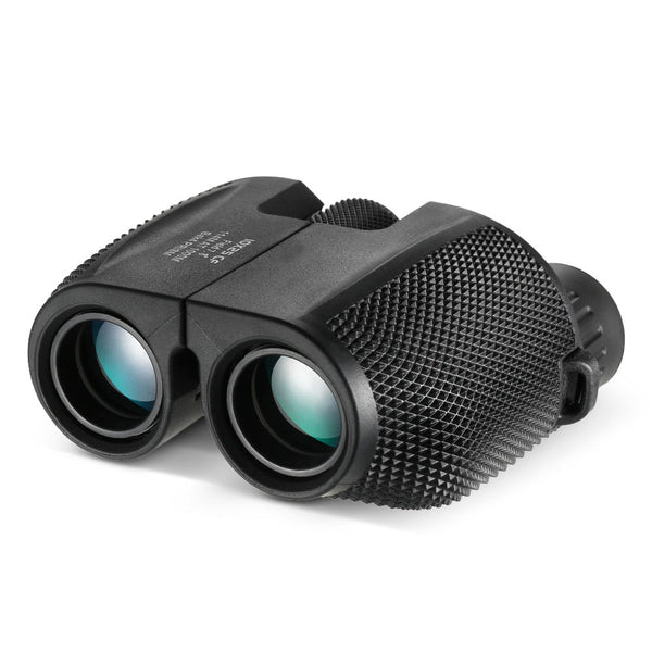 Lightweight Portable Binoculars Telescope 10x25 HD Bak4 Prism IPX6 Waterproof Telescope