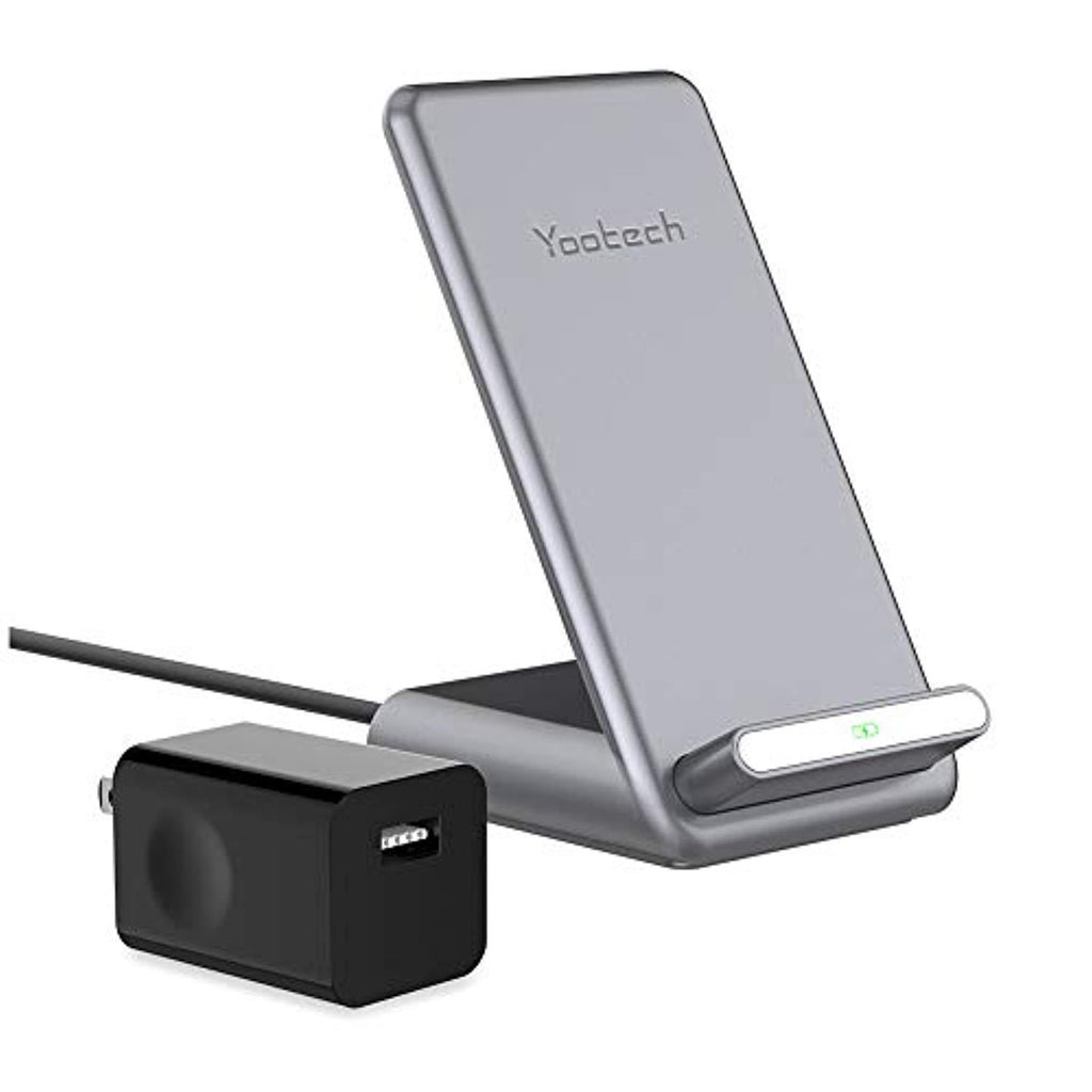New High Quality Yootech 7.5W/10W/15W Fast Wireless Charger with Cooling Fan,7.5W Wireless Charging Stand with QC3.0 Adapter Compatible iPhone 11/11 Pro/11 Pro Max,15W LG V30/V35/G8,10W Galaxy S20/S10,Pixel 3/4XL USA Imported Product - EY Shopping