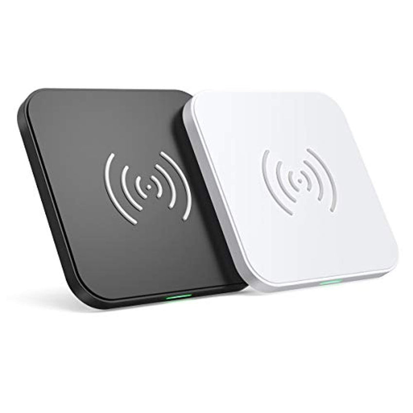 New High Quality CHOETECH Wireless Charger (2 Pack),10W Max Qi-Certified Fast Wireless Charging Pad Compatible with iPhone 11/11 Pro/11 Pro Max/XS Max/XS/X/8, Samsung Galaxy Note 10/S20/S20+/S10/S10+, AirPods Pro USA Imported Product - EY Shopping