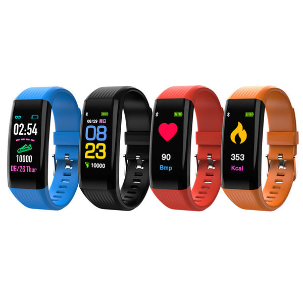 "XANES B06 0.96"" Touch Screen Smart Watch Waterproof Heart Rate Monitor Fitness Bracelet Mi Band"