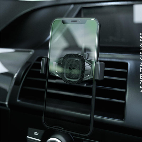 HOCO Extendable Clip 360 Degree Rotation Car Air Vent Holder Stand for Samsung Xiaomi Smart Phone