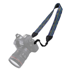 PULUZ PU6008A Retro Ethnic Style Multi-color Series Shoulder Neck Strap for SLR DSLR Cameras