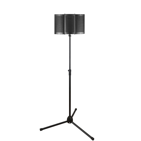 Foldable Microphone Acoustic Isolation Shield Studio Foams Panel for Recording Live Broadcast Microphone