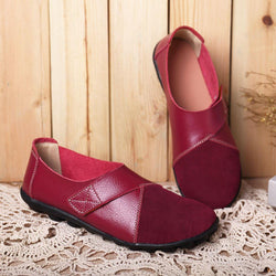 Women Flats Shoes Slip on Comfortable Loafers Shoes - EY Shopping