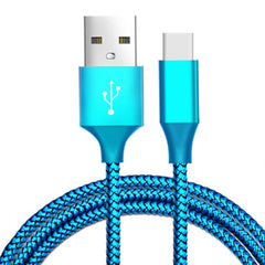 Bakeey 3m 2.1A Nylon Braided Type-C Fast Charging Data Cable for Xiaomi 8  Oneplus 6 Honor 10