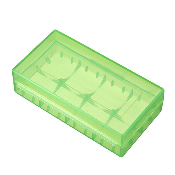 18650 x 2 Sot Plastic Battery Case Batteries Cover Spare Carrier Holder Storage Box CR123A 16340 R123A 17670 4x Cell 18350 Container