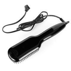 110-220V Comb Men Quick Beard Straightener Irons Hair Straightener Styling Tools with LCD Beard Styling Detangling Straightening