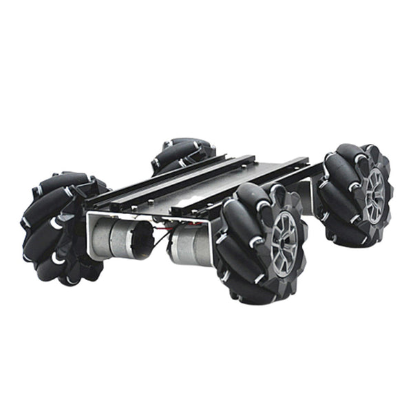 D-45 DIY Smart Metal RC Robot Car Chassis Base With Omni Wheels Compabible With UNO