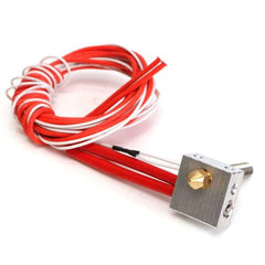 Geekcreit Assembled Aluminum Heating Block Extruder Hot End For 3D Printer 1.75mm 0.4mm Nozzle