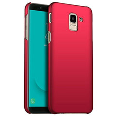 New High Quality BANZN Galaxy J6 Case, Ultra-Thin Premium Material Slim Full Protection Cover for Samsung Galaxy J6 (5.6 inch) 2018 (Red) USA Imported Product
