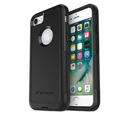 High Quality OtterBox COMMUTER SERIES Case for iPhone 8 & iPhone 7 (NOT Plus) - Frustration Free Packaging - BLACK USA Imported Product - EY Shopping
