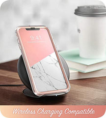 "High Quality i-Blason Cosmo Full-Body Bumper Case for iPhone XR 2018 Release, Pink Marble, 6.1"" USA Imported Product - EY Shopping"