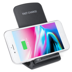 Bakeey Double Coil Qi Wireless Charger 15W Fast Charging Stand For iPhone XS 11Pro Huawei P30 P40 Pro MI10 Note 9S S20+ Note 20