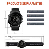 Large Face Waterproof Wrist Watches for Men with Stopwatch Alarm LED Backlight & Fashionable sporty dial design Men's Digital Sports Watch, USA Imported Product