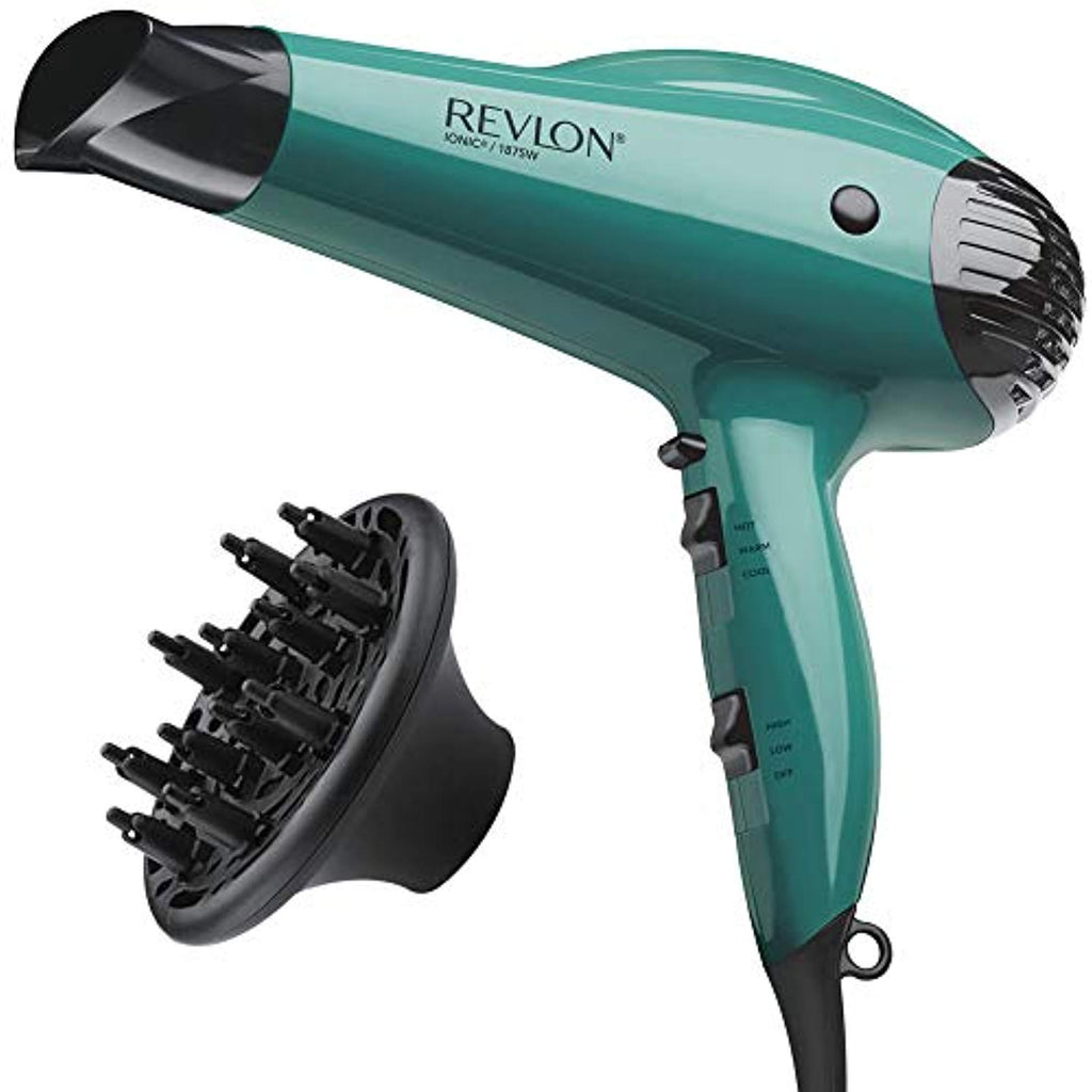 Revlon 1875W Volume Booster Hair Dryer, Smoothing Concentrator for Precise Drying and Styling USA Imported Product