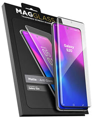 High Quality HD Clear screen protector Magglass Galaxy S20 Matte Screen Protector (Fingerprint Resistant/Bubble Free) Anti Glare Tempered Glass Guard for Samsung S20 6.2 USA Imported Product - EY Shopping