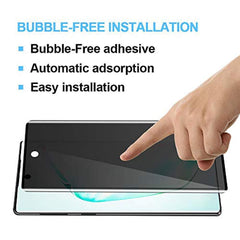 High Quality HD Clear screen protector [2 Pack] Note 10 Plus Privacy Screen Protector Anti-Spy, LYWHL Tempered Glass Screen Protector for Galaxy Note 10 Plus, Note 10+ Full Coverage Case Friendly [Anti-Scratch] [Bubble Free] [9H Hardness] USA Imported Pro - EY Shopping