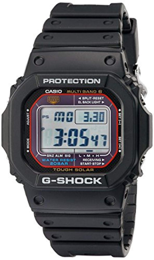 Best Digital Watche Casual solar-powered Casio Men's G-Shock Quartz Watch with Resin Strap, Black, 20 (Model: GWM5610-1) USA Imported Product - EY Shopping