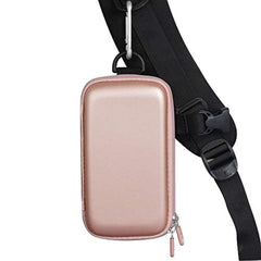 New High Quality Hermitshell Hard Travel Case fits POWERADD Pilot 4GS 12000mAh 8-Pin Input Portable Charger (Rose Gold) USA Imported Product - EY Shopping