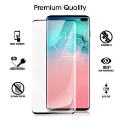 High Quality HD Clear screen protector SPCOE Galaxy S10 Plus Screen Protector Tempered Glass [HD Clear][No Bubbles][9H Hardness][Anti-Fingerprint] Tempered Glass Screen Protector Compatible with Samsung Galaxy S10 Plus(Black) USA Imported Product - EY Shopping