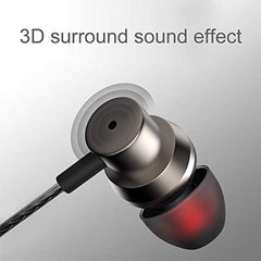 Earphones,JUKSTG Noise Isolating in-Ear Headphones with Pure Sound and Powerful Bass, Earbuds with High Sensitivity Microphone and Volume Control Comfortable Protein Earphones, Headphones for iPhone, iPod, iPad, MP3, Samsung,etc USA Imported Product