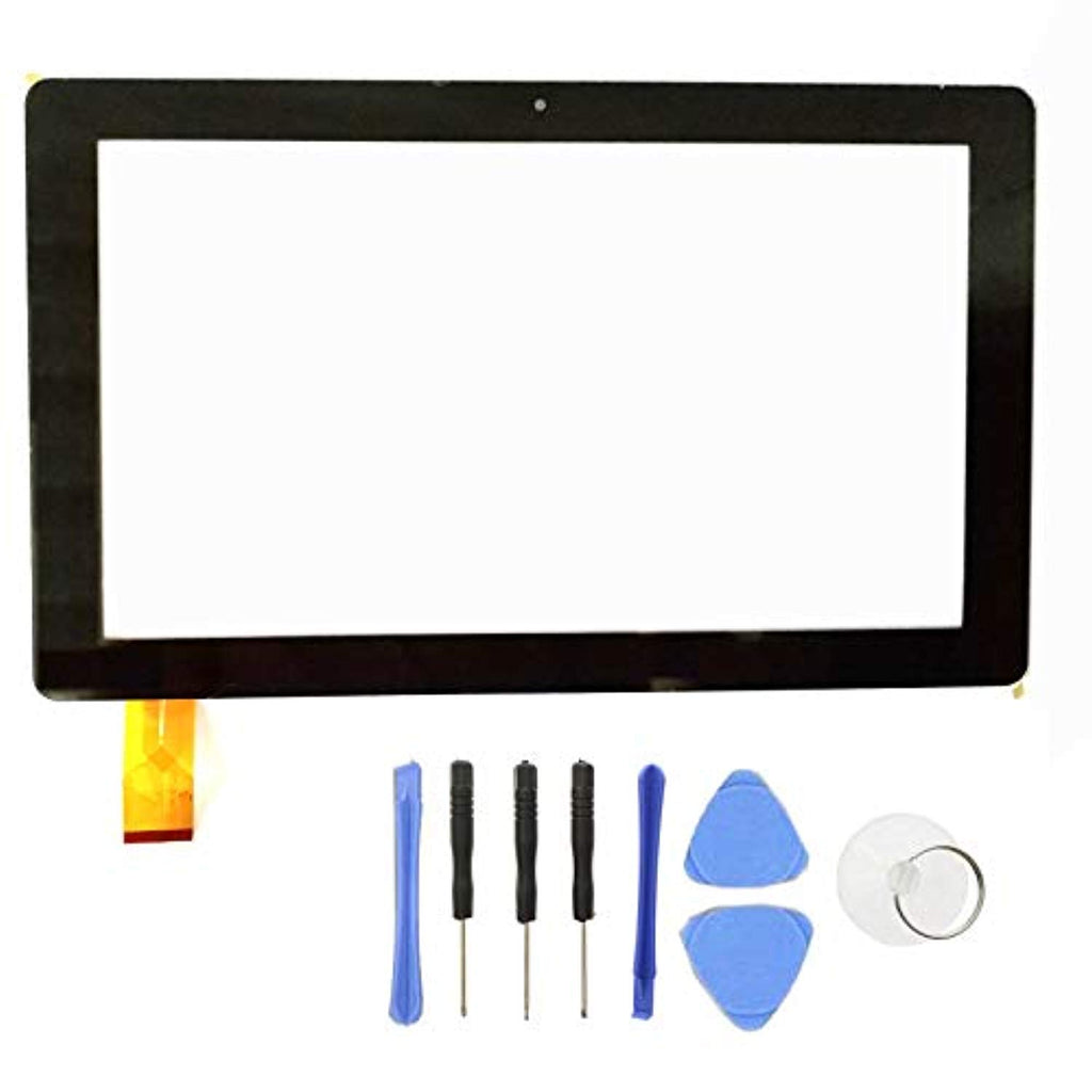 EUTOPING R New Touch Screen Panel Replacement Digitizer, Mobile Touch Panel Screen For Dragon Touch X10 10.6 Inch Octa Core With SlyPry Opening Tool Kit USA Imported Product