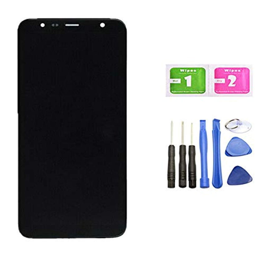 Compatible Mobile Phone Touch Panel Screen Digitizer LCD Display Screen Assembly Replacement For Samsung Galaxy J4+ Plus J415F/DS J415F J415FN/DS J415GN/DS J415GN J415N(NOT For J400/J410) USA Imported Product