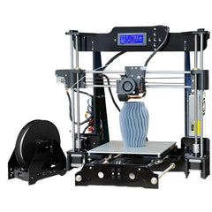 TRONXY P802M DIY 3D Printer Kit 220*220*240mm Printing Size Support Off-line Print 1.75mm 0.4mm