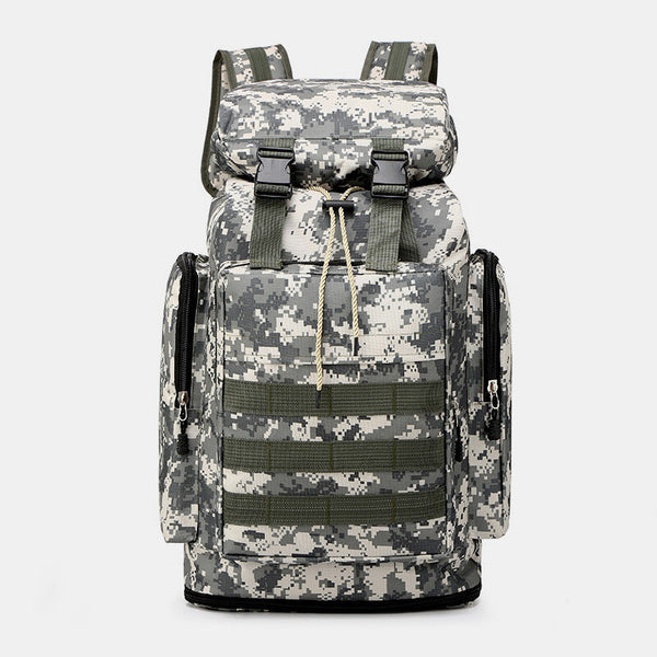 Men Casual Large Capacity Waterproof Backpack Travel Sports Bag