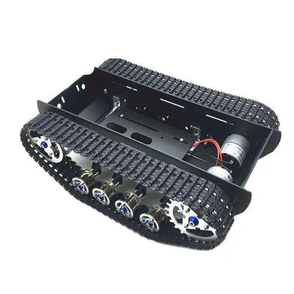 DIY A-10 Damped Aluminous Smart RC Robot Car Chassis Tracked Tank Chassis For Raspberry Pi