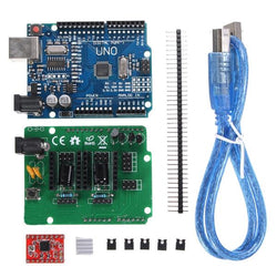 Geekcreit UNO R3 Board ZUM Scan Shield Expansion Open Source Kit For DIY Ciclop 3D Printer Scanner