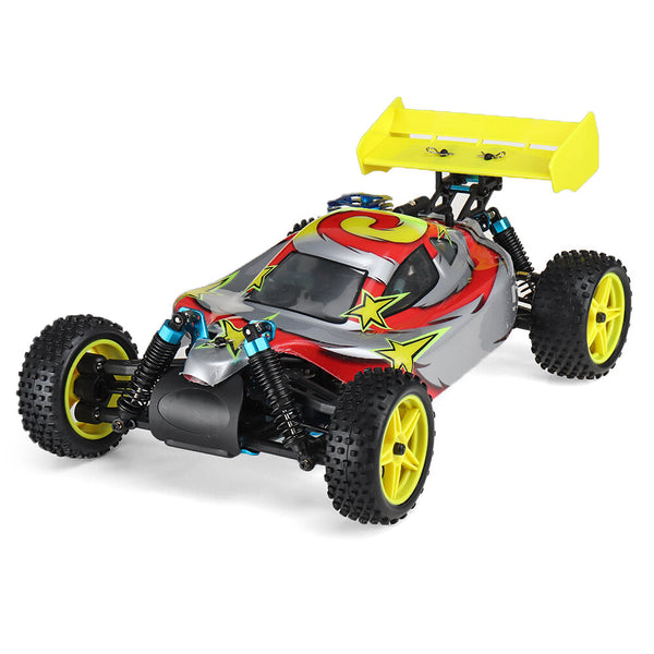 HSP Baja 94166 1/10 2.4G 4WD RC Car Backwash Off-road Truck With 18cxp Engine RTR Toy